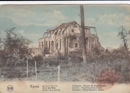 IEPER / OORLOG 1914-18 / KASTEEL OP DE POPERINGE WEG  1918 - Ieper