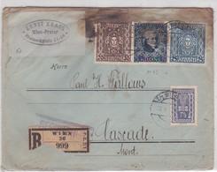 LSC -RECOMMANDE  WIEN / 15 MAI 1922 - 1850-1918 Imperium