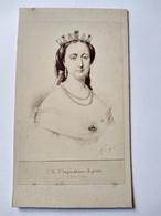 CDV Impératrice Eugénie De Montijo - BE - Foto's