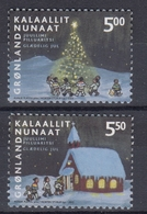 +Greenland 2003. Christmas. AFA 412-13. MNH(**) - Groenland