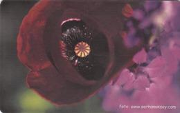 TURKEY - Purple Flower ,Chip CHT08 , 50 Unit ,used - Türkei