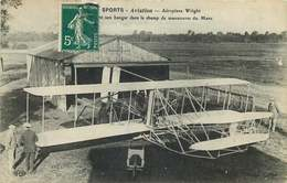 SPORT AVIATION  Aeroplane Wright Dans Le Champ De Manoeuvres Du Mans - 1919-1938
