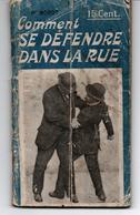 Jiu-Jitsu Self Defense Comment Se Défendre Dans La Rue - Livres, BD, Revues