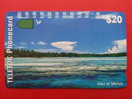 TOKELAU - Trial Issue 20$ Isle Islet Of Tokelau Anritsu TELETOK MINT NEUVE (BA1219.5 - Tarjetas Telefónicas