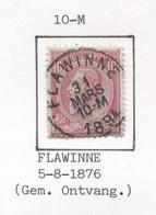 REF80/ TP 46 C.Flawinne 31 Mars 10-M 1894 - 1884-1891 Léopold II