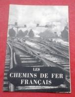 Les Chemins De Fer Français 1949 Documentation Française Illustrée N°33 Traction Matériel Régulation Locomotives - Chemin De Fer & Tramway