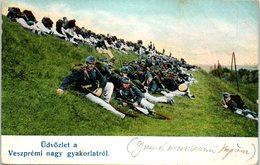HONGRIE - Udvözlet à Veszprémi Nagy Gyakorlatrol - Hongrie