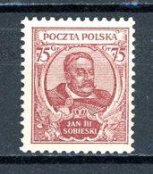 Pologne   Y&T   350    X    ---    Très Faible Charnière  --  TTB - 1919-1939 République