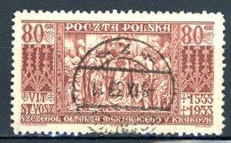 Pologne   Y&T   366   Obl    ---   TTB - 1919-1939 République