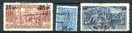 Pologne   Y&T   371 - 373    Obl    ---   TTB - 1919-1939 République