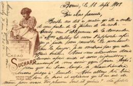 Exposition Paris 1900 - Suchard - Werbepostkarten