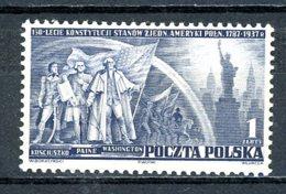 Pologne   Y&T   399    X    ---   Très Faible Charnière  --  TTB - 1919-1939 République