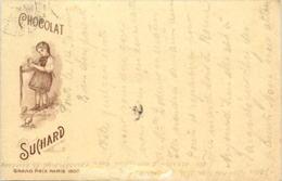 Paris - Exposition 1900 - Suchard - Werbepostkarten