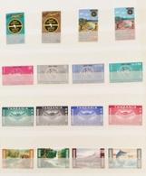 Kenya Uganda Tanzania 1965-6 Sg 211-226  4 Sets MNH - Kenya, Uganda & Tanganyika