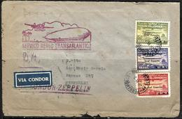 655 - GERMANY - 1934 - ZEPPELIN - COVER - FORGERY, FALSE, FAKE, FAUX, FALSO, FALSCH - Timbres
