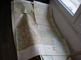 Skoplje Ultra Big Map 67x100 Cm - Cartes Topographiques