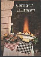 THEME CUISINE __SAUMON GRILLE A L'AUVERGNATE - Recipes (cooking)