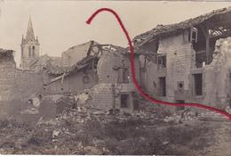 ( 60 ) - Thiescourt Carte Photo Allemande 1° Guerre - Frankrijk