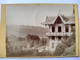 Près De AIX-LES- BAINS (73)  Photographie Ancienne CDV - LE CHALET DE MARLIOZ   - Rare TBE - Luoghi