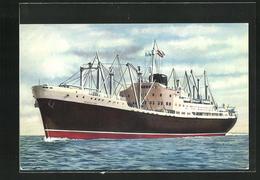 AK Handelsschiff M. N. Guadalupe Auf Hoher See - Handel