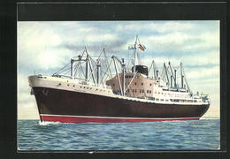 AK Handelsschiff M. N. Guadalupe Auf Hoher See - Cargos