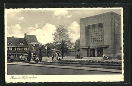 AK Bussum, Stationsplein, Bahnhofsplatz - Bussum