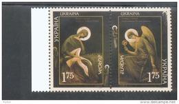 CEPT Plakatkunst / Poster Art Ukraine 562 - 563 MNH ** Postfrisch - Europa-CEPT
