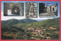 CP-34- CAMPLONG - Chapelle St-Sauveur Du Puy - Le Village  *Chavarria - SUP * 2 SCAN- - Other Municipalities
