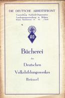 Livret  Ww 2 Die Deutsche  Arbeitsfront - 1939-45
