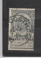 COB 53 Oblitération Centrale OOSTHAM - 1893-1907 Armoiries