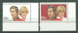 Australia: 1981   Royal Wedding    MNH - Mint Stamps