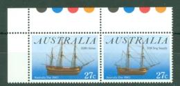 Australia: 1983   Australia Day - H.M.S. Sirius     MNH Pair - Mint Stamps