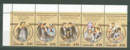 Australia: 1983   Folklore - 'The Sentimental Bloke'     MNH Strip Of 5 - Mint Stamps