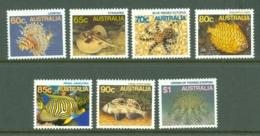 Australia: 1984/86   Marine Life Set   SG919-937     MNH - Mint Stamps