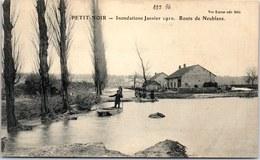 39 PETIT NOIR - Crue De 1910, La Route De Neublans - France