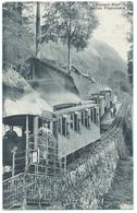 Pilatusbahn Crémaillière Zahnradbahn Cog Railway Bergbahn Tram Train Dampf Eisenbahn Train 1922 - LU Lucerne