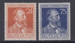 Gemeinschaftsausgabe Mi.Nr. 963-964 Heinrich Von Stephan 24 Pf + 75 Pf ** - American,British And Russian Zone