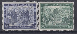 All. Besetzung Gemeinschaftsausgabe 967-968 Leipziger Frühjahrsmesse Postfrisch - American,British And Russian Zone