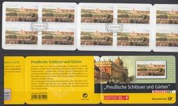 Bund Markenheftchen 59 Preußische Schlösser Und Gärten 2005 ESST Weiden - [7] Repubblica Federale