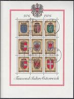 ÖSTERREICH Block 4, Gestempelt, 1000 Jahre Österreich 1976 - Blocks & Kleinbögen