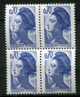 15985 FRANCE N°2240b**(Yvert) 70c. Bleu-violet  Liberté : Sans Bande De Phosphore  1982   TB - Errors & Oddities