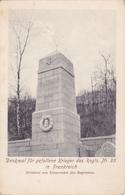 ( 60 ) - Moulin-sous-Touvent Friedhof Cimetière  DEnkmal   Carte Allemande 1 ° Guerre - Andere Gemeenten