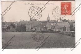 CPA VERDES (41) : Vue Du Bourg, Prise De L'étang - Francia