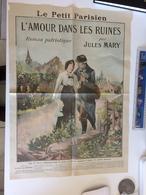 Feuille Le Petit Parisien De 1915, (Jules Mary) - 1915 Le Monde En Guerre (The World At War)(Le Miroir) - Pubblicitari