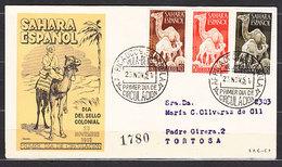 Sahara Sobres 1� D�a 1951 Edifil 91/3 - Sahara Espagnol