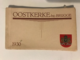 Carnet De 12 Cartes Postales Anciennes OOSTKERKE -bij-BRUGGE 1930 - Damme