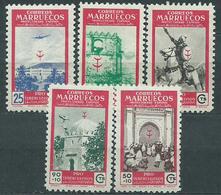Marruecos Correo 1950 Edifil 325/29 * Mh - Marocco Spagnolo