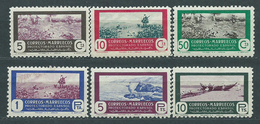 Marruecos Correo 1951 Edifil 330/35 * Mh - Spanish Morocco