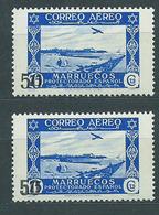 Marruecos Correo 1953 Edifil 373/73A * Mh - Spanish Morocco