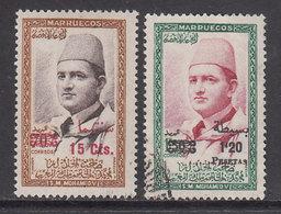Marruecos Zona Norte 1957 Edifil 19/20 O - Spanish Morocco